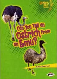 Can You Tell an Ostrich from an Emu: Animal Look Alikes (Lightning Bolt Books)