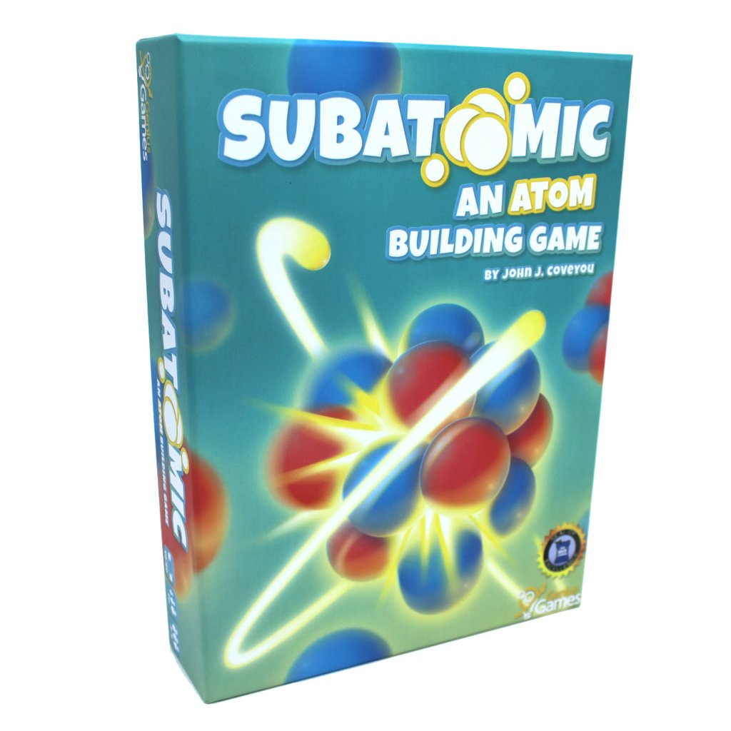 Subatomic (2nd Edition): An Atom Building Game