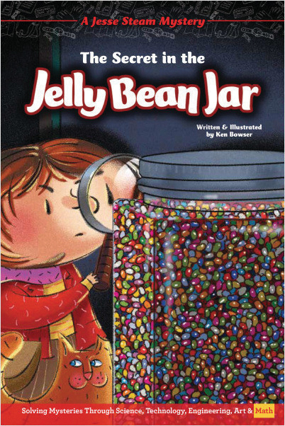 The Secret in the Jelly Bean Jar: Jesse Steam Mysteries